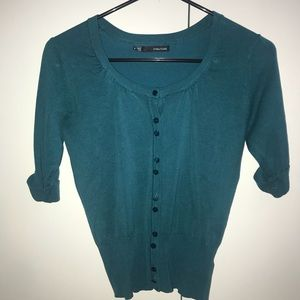 Maurices Sweaters - Dark Teal / Green Cardigan
